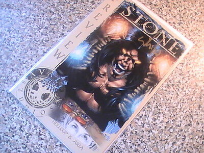 Stone The Awakening Preview -  Signed Whilce Portacio! Dynamic Forces