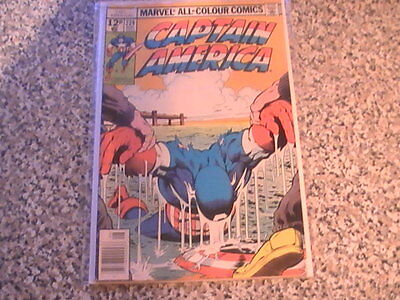 Captain America # 224  - Marvel Comics -  Bronze Age   B