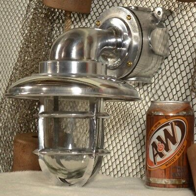 Aluminum Bulk Head / Passage Way Nautical Light