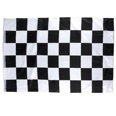 Checkered Race Flag Car Racing 3 X 5 Flags Checker Black White Finish
