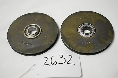 (2632) Boeing Aircraft Pulley P/N 3-11002-4 (lot of 2)