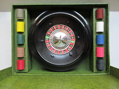 Vintage Roulette Game Josa Games Lucky Brand USA original box