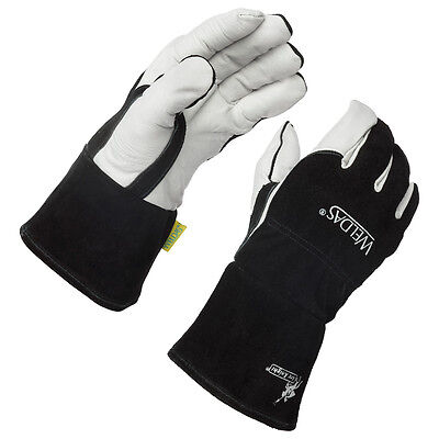 Weldas Arc Knight Premium Lined MIG/TIG Welding Gloves, Size Large