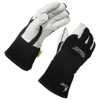 Weldas Arc Knight Premium Lined MIG/TIG Welding Gloves, Size X-Large