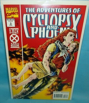 Adventures of Cyclops & Phoenix #3 of 4 Comic by Marvel Comics Limited Series VF