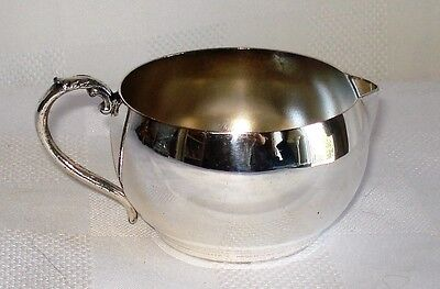 Essay E. P. Copper Silver Plated Creamer (Canada) 178  Lead Mounts