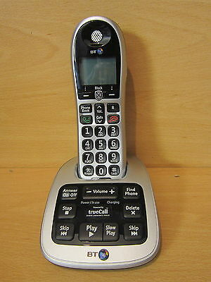 BT Big Button 4500 Cordless Home house Telephone & answer machine. Single -UB
