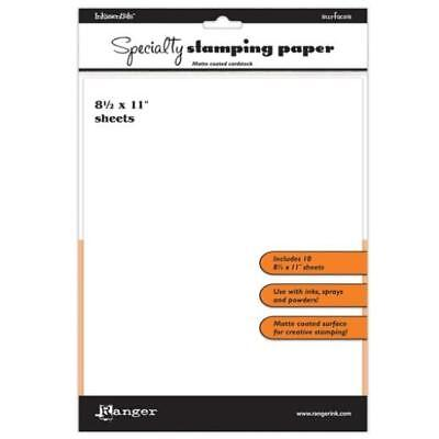 Ranger Inkssentials Specialty Stamping Paper A4