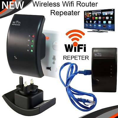 Wireless Repeater 300Mbps WiFi Signal WiFi Range Extender Router Booster Sky Wps