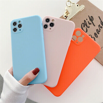 Ultra Thin Shockproof Silicone Rubber Cover Case Skin for Apple iPhone 5 5s SE