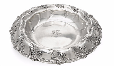 Tiffany & Co. Large Sterling Center Bowl 1892-1902