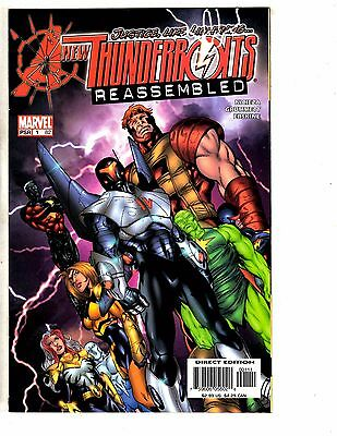 10 New Thunderbolts Marvel Comic Books # 1 2 3 4 5 6 7 8 9 10 Wolverine RC1