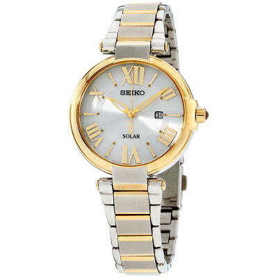 Seiko Recraft Silver Dial Stainless Steel Ladies Watch SUT174