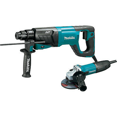 "NEW Makita HR2641X1 1"" AVT SDS-plus Rotary Hammer + Grinder (Authorized Dealer)"