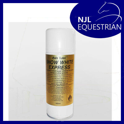 Gold Label Show White Express - Horse/Pony Show Cover Up Spray