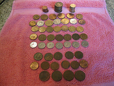 Collection of 87 Coins from South Africa