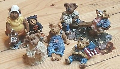 Boyds Bears The Bearstone Collection ~ Lot of 5