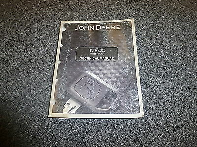 John Deere LX288 Lawn Tractor Technical Shop Service Repair Manual TM1754