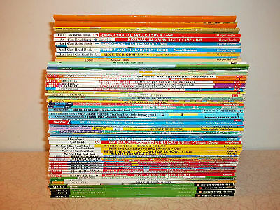 Book lot 60 READERS LEVELS 1 & 2  Step Into Reading   I Can Read  Hello Reader