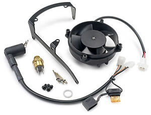 KTM Radiator Cooling Fan Kit 250 300 EXC 08-16 2 Stroke 55135041044