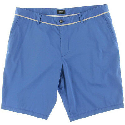 408678f8 Hugo Boss Shorts Regular Fit Clyde1-14-W Blue Casual Size 38R NEW Mens