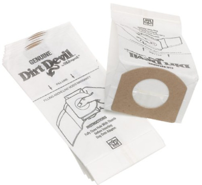Dirt Devil Type G Vacuum Cleaner Bags, 10-Pack
