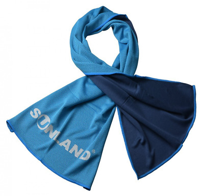Sunland Soft Breathable Cooling Towel New Ice Fabric Gym Towel(Light Blue)