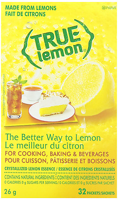 TRUE LEMON True Lemon True Lemon Beverage Powder 32-Count, 25.8G