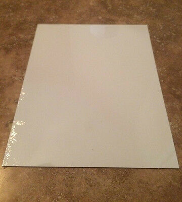 "8"" x 10"" Dye Sublimation Aluminum Photography blanks  square cut corners"