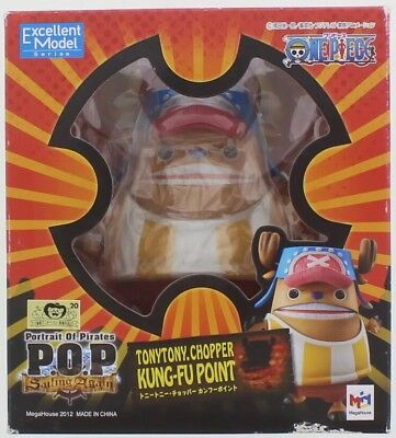 MEGAHOUSE Sailing Again POP Kung Fu Point Tony Tony Chopper One Piece Figure