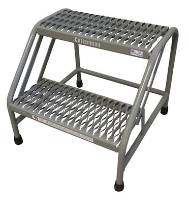 New! Cotterman Steel 2-Step Stand, 500 Lb. Rating, 1302N2223A3E10B1C1P6
