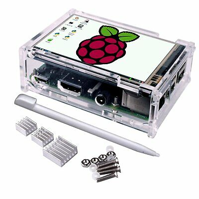 Touch Screen for Raspberry Pi 3 Kit, Quimat 3.5 Inch Touch Screen Monitor TFT +