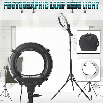 AU Dimmable  LED Ring Light 40W 5500K With Diffuser Light Stand Power Adjustable