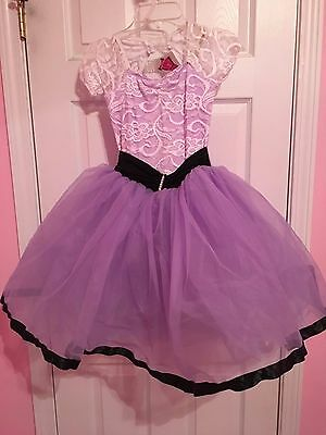 "Costume Gallery Dance Ballet Purple ""Fairest of Them All"" Style 17226 - Size M"