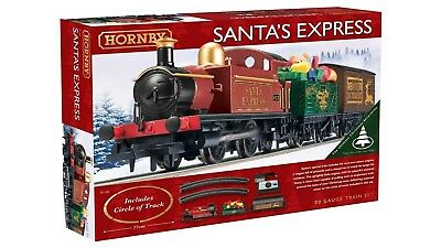Hornby R1185 Santa's Express Christmas Train Set. Free Shipping