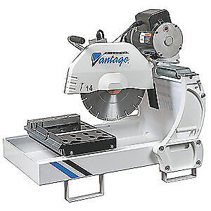 DIAMOND VANTAGE Cast Aluminum Masonry Saw, MS14-1.5E