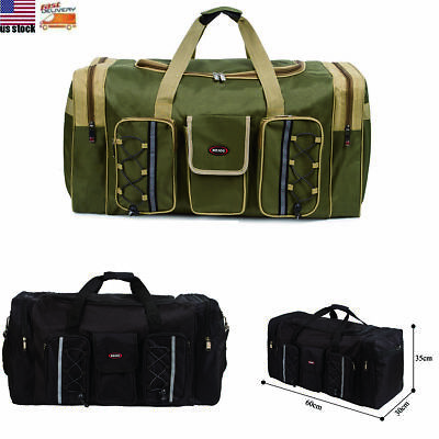 Men's Travel Sports Duffle Bag Tote Gym Weekend Overnight Holdall Handbag Large
