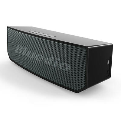 Bluedio BS-5 Portable Bluetooth4.1 Wireless speaker Sound System 3D stereo,Black