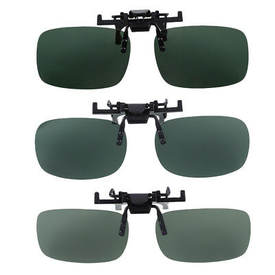 Polarized Lenses Flip Up Clip On Protector for Sunglasses UV400 Outdoor Driving