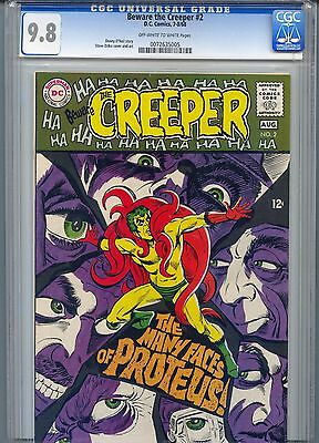 Beware the Creeper #2 CGC 9.8 Ow-White pgs Steve Ditko cvr & art 1 of 3 highest
