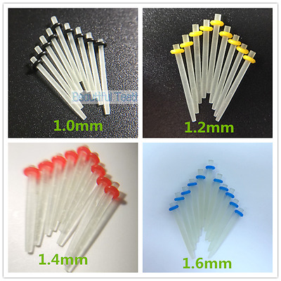 Dental Fiber Post Quartz Root Canal Pins Resin 1.0-1.9mm For Core-Crown Build-Up