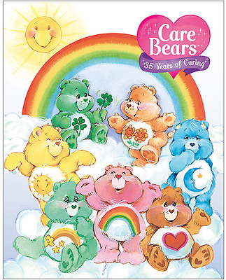 Australia - 2017 - Care Bears 30 Years of Caring Sheetlet Stamp Pack