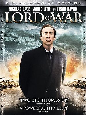 Lord of War (2-Disc Widescreen Special Edition DVD) Nicolas Cage 2005, 'R'