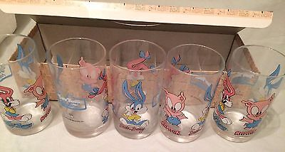 Tiny Toon Adventures 5-Piece Juice Glass Set