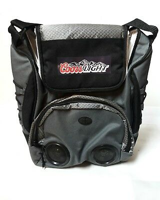 Coors Light Cold Pack Cooler Insulated with Speakers