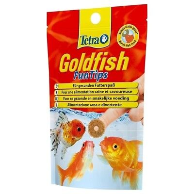 Tetra - Aliment Goldfish FunTips pour Poissons Rouges - 100g