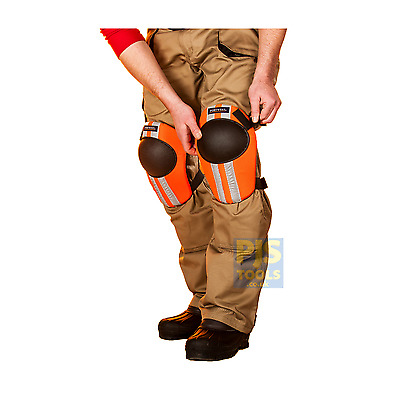 Portwest KP20 orange hi vis comfort kneepads work builders industry knee pads