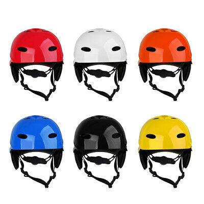 Universal Safety Water Sports Helmet Kayak Surf Wakeboard Hard Cap - CE Approved