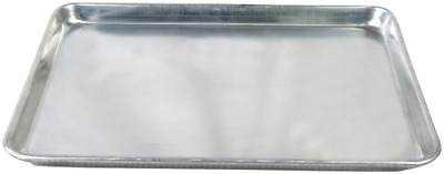 18x13in Excellante Half Size Aluminum Baking Sheet Pan Kitchen Dining & Bar Gray