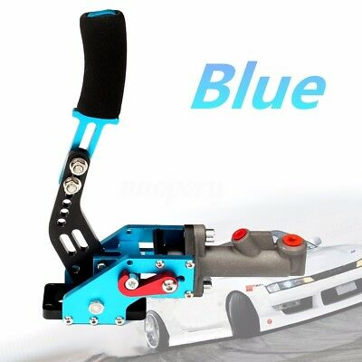 Universal Hydraulic Handbrake E-brake Racing Drift Emergency Brake Lever Blue